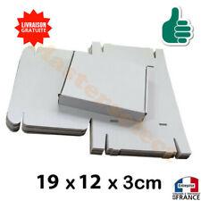 Carton boite pour lettre format poste postal 3cm type Max Suivie Emballage Blanc