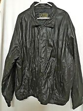 Mens SZ 3X Boston Outfitters Leather Jacket Black never worn