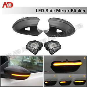 Sequential LED Side Mirror Signal Light For VW EOS Beetle CC Passat B7 Jetta Mk6