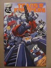 Transformers G1 #1 Dreamwave 2002 Series 1st Print Cover A 9.4 Near Mint