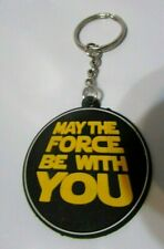 Star Wars 2015 Soft Plastic Keychain May The Force Be With You