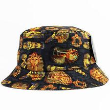 Egipcio Bucket Hat Gorra Sombrero 5 Panel Snapback Faraón Nuevo