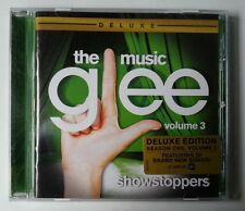 GLEE: THE MUSIC, VOLUME 3 SHOWSTOPPERS CD ALBUM 2010 2010s SOUNDTRACKS THEATRE