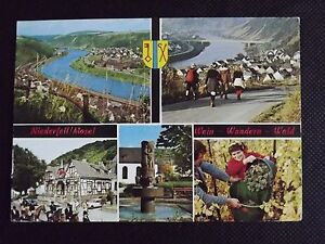 Niederfell Mosel Postcard