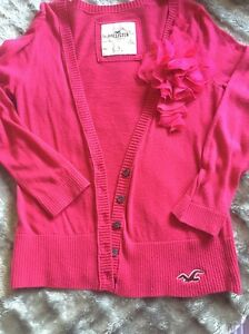 Hollister Pink Top Size Small