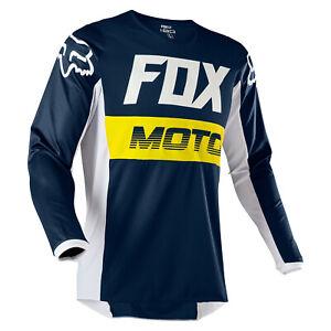 2020 YOUTH KIDS FOX RACING 180 MOTOCROSS MX JERSEY - FYCE NAVY