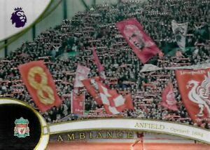 2016 TOPPS PREMIER GOLD Liverpool FC Anfield Stadium Ambiance Rare Card A-9