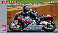 Hasegawa 21719 1/12 Scale Model Motorcycle Kit Team Seed Racing Honda NSR500 '89