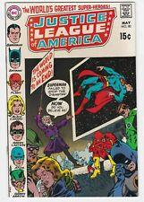 Justice League Of America #80 VF-NM 9.0 Batman Superman Denny O'Neil JLA Flash