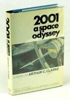 Arthur C Clarke Signed 2001 A Space Odyssey Hardcover w/Dustjacket Kubrick Film