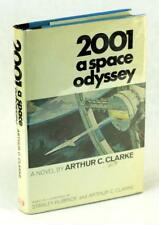 Arthur C Clarke Signed 2001 A Space Odyssey Hardcover w/Dustjacket Kubrick Film