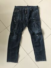 Dsquared2 Beautiful and Rare Denim Biker Jeans Slim Fit Authentic Pre-owned