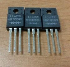 5PCS X MBRF10150CT LITEON 10A, 150V, SILICON, RECTIFIER DIODE