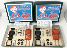 Lot of 2 Toys Club Tintoy Car Construction Kit Made In Japan VW Beetle - READ