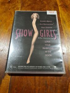 Show Girls Elizabeth Berkley DVD Region 4 Australia ShowGirls New and sealed