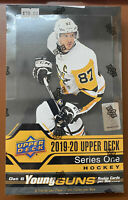 NEW 2019-20 Upper Deck Series 1 Hockey Factory Sealed Hobby Box 2020 NHL Cards