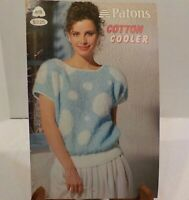 Cotton Cooler Sweater By Beehive Knitting Crochet Patterns Vintage