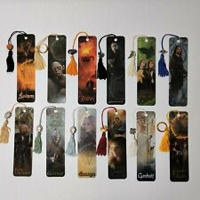 Lord of the Rings The Two Towers Antioch Bookmarks Set of 12 LOTR w/Tassle