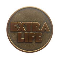 US SHIP Game Extra Life Coin Quarter Ready Player One Coin Token - Bronze 1PCS