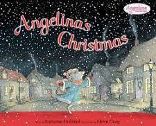 NEW! Angelina's Christmas by Katharine Holabird FREE AUS POST! Paperback, 2002