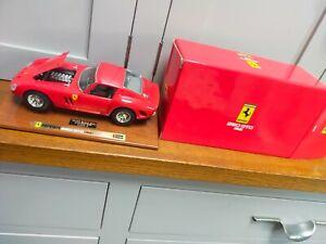 Burago 1962 Ferrari 250 GTO model - boxed - 1988 Presentation Model