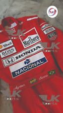 Ayrton Senna 1991 Replica Embroidered Patches McLaren Classic suit