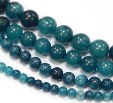 Edelsteine Perlen Natur 4/6/8/10 mm Indische Saphir Schmucksteine Wählen Größe