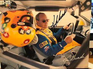 NASCAR Ken Schrader M&M racing  2000 Autographed driver card
