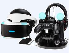 Virtual Reality Headset Holder PS4 Controller Charging Station Set DualShock Sto