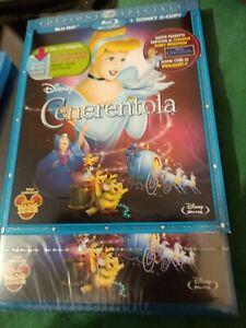 Disney Cenerentola Edizione Speciale Blu-Ray Bluray Da Collezione slipcover