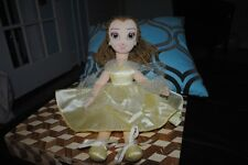 "Disney Belle Ballerina Rag Doll Beauty and the Beast 20"" Rare HTF Disney Store"