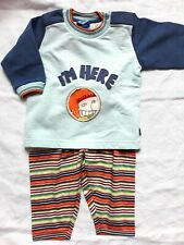 Oilily Jungen Outfit Gr. 68 Kombination NEUWARE Sweatshirt und Hose