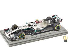 1:43 Spark S6451 Mercedes AMG F1 W11, Barcelona test 2020, Bottas #77