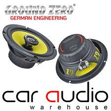 "Ground Zero GZTF 16 - 6.5"" 165mm 130 Watts 3-Ohm 2-Way Coaxial Car Speakers"