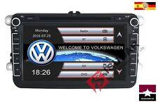 "DVD GPS 2 Din 8"" VW Passat/POLO/GOLF/Skoda/Octavia/Seat Leon MAS! RDS FM EU DE"