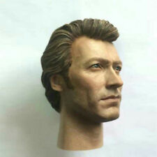 "Dirty Harry Clint Eastwood Head Sculpt Harry Callahan For 12"" Hot Toys Figure"