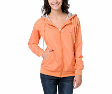 NWT Glamour Kills Windbreaker Jacket sweater hoodie Juniors Womens Rain Coat S