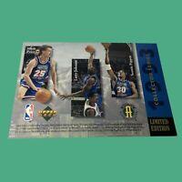 NBA ALL STARS Isiah Thomas Michael Jordan Shaquille O'Neal 93  Limited Edition #