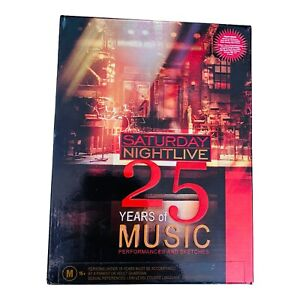 SNL 25 Years of Music DVD box set Vol 1-5 RARE Saturday Night Live deleted title