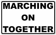 Leeds United 'Marching On Together' Vinyl Decal Sticker