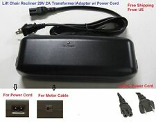 Limoss MC 140 Recliner or lift chair Power Supply Battery Back Up+AC Power cable