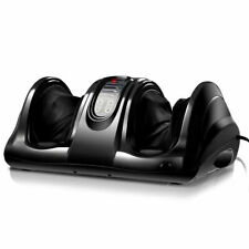 New Shiatsu Foot Massager Kneading and Rolling Leg Calf Ankle w/Remote Black