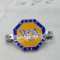 VINTAGE Women Drivers Association Enamel Pin Badge Collectable Memorabilia WDA