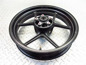 2007 06-08 Kawasaki Ninja 650R EX650R Front Wheel Rim Straight Video 17X3.5