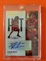 Darius Miles Hot Signatures Autograph 2019/20 Panini NBA Hoops Los Angeles