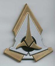 Star Trek Klingon Communicator Comm Badge Pin [Hook & Loop]