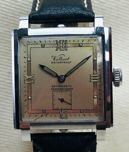 Vintage Kelbert Waterproof Tank Wristwatch