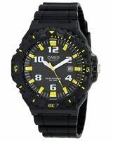 Casio Men's MRW-S300H-1B3VCF Tough Solar Black Watch - NEW