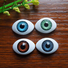 40Pc Plastic Fake Eyes Oval Eyeballs for Mask Dolls Bear Baby Toy eye  22.5*16mm