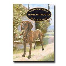 Plott Hound House Is Not A Home Fridge Magnet New Dog